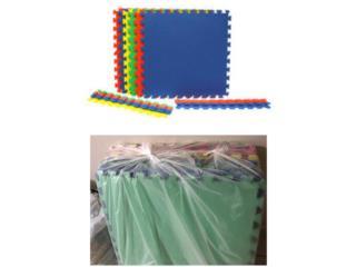 Mats de colores para piso-niños, Puerto Rico