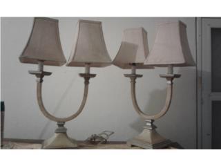 Set de dos lamparas , Puerto Rico