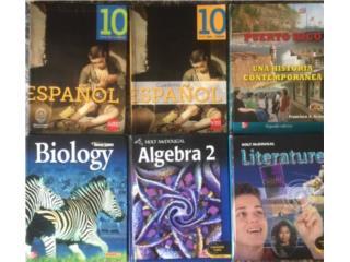 Libros 10mo, Puerto Rico