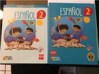 LIBROS ESPAÑOL SEGUNDO GRADO, Puerto Rico