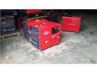 Generador diesel silencioso 6300w , Puerto Rico