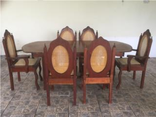 Muebles sala y comedor, Puerto Rico