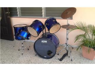Bateria (Drums), Puerto Rico