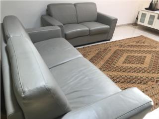 Leather Sofa Cama & Love Seat, Puerto Rico