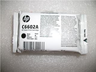 TINTA INKJET HP C6602A BLACK -MARZO 2019, Puerto Rico