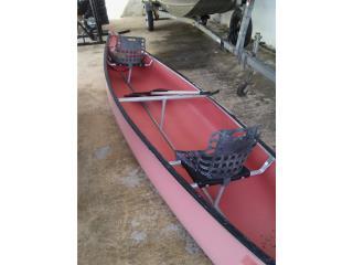 Canoa 15' con remos y espaldares $480, Puerto Rico