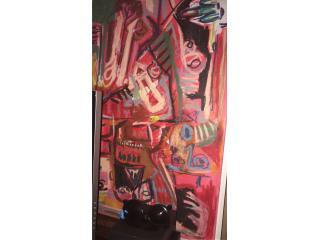 Cuadro original - Omart Gallery , Puerto Rico