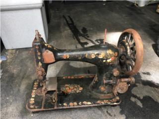 Maquina coser antigua Singer 1800s, Puerto Rico