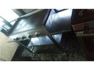 Plancha de Gas 4 horneadores, Puerto Rico