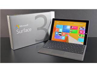 Surface 3 MicroSoft Tablet PC, Puerto Rico