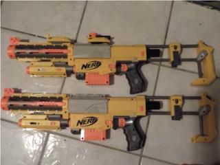 Pistolas de juguetes, Puerto Rico