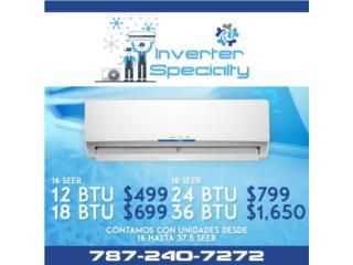 Consolas Inverter desde $499, Puerto Rico