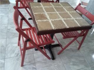 set mesa y 2 silla , Puerto Rico