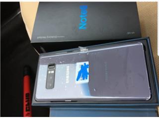 Samsung Glaxy Note 8, Puerto Rico