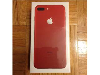 Rojo iPhone 7 Plus (Whatsapp:+2349065080491), Puerto Rico