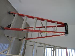 Escalera Werner fiberglass de 6 pies, Puerto Rico