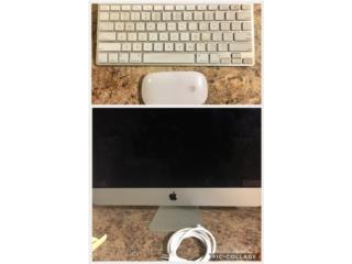 Monitor Imac 21.5, teclado y mouse, Puerto Rico