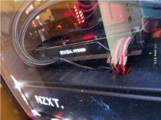 EVGA  gtx 1080 hybrid, Puerto Rico
