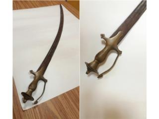 Espada Antigua Tulwar Silgo XVIII, Puerto Rico