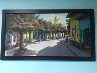 Obra de arte Oleo sobre lienzo, Puerto Rico