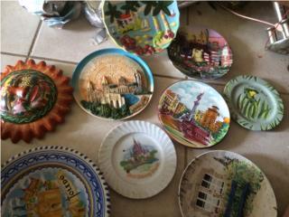 Caja de Artesanias porcelana y cerámicas , Puerto Rico