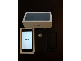Iphone 7 negro mate, 128gb de at&t, Puerto Rico