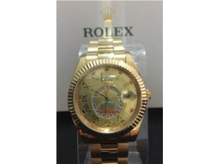 "Rolex ""SKY-DWELLER "" Yellow Gold, Puerto Rico"