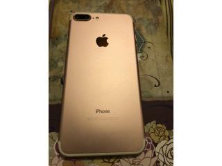 Vendo IPhone 7 Plus 128g Rose Gold claro, Puerto Rico