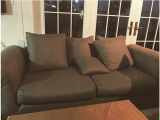 Sofa de Sala - color gris, Puerto Rico