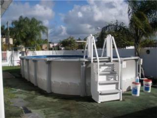 Escalera de piscina, Puerto Rico