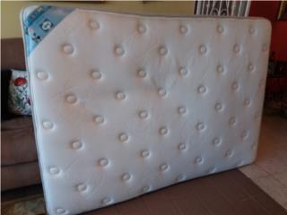 Set de mattreses y box, marca sealy, Puerto Rico