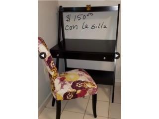 Compacto escritorio y silla, Puerto Rico