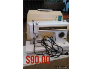 Máquina de coser kenmore (con estuche), Puerto Rico