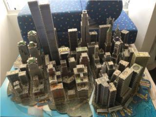 Torres 3D gemalas rompe cabezas $995, Es de F, Puerto Rico