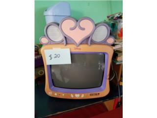 Televisor rosa de niña , Puerto Rico
