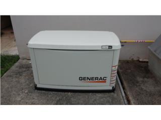Planta de gas de 16 kw,115 horas de uso, Puerto Rico