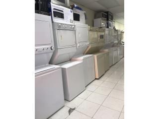 Combos lavadoras y secadoras desde $750.00, Puerto Rico
