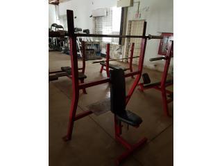 Maxicam Olympic Shoulder Press Bench, Puerto Rico