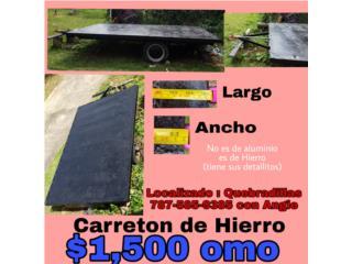Carreton de hierro, Puerto Rico