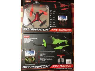 Sky Phantom FPV Drone Nuevos de paquete, Puerto Rico