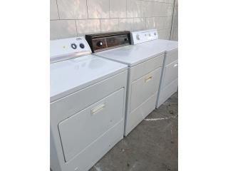 Secadoras de gas y eléctricas, Especial , Puerto Rico