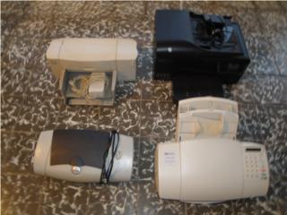 4 Printers / 4 Modelos Diferentes, Puerto Rico