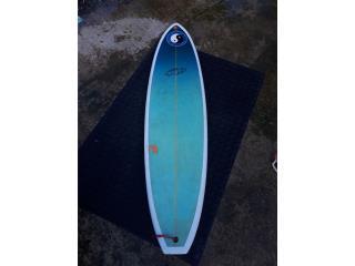 Tabla de Surf Epoxi 610 o sk x long board pequeño, Puerto Rico