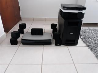 BOSE 5.1 PROYECTOR HD BLUERAY 3D PANTALLA 100 PLG, Puerto Rico