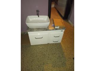 Lavamano con gavinete PVC, Puerto Rico