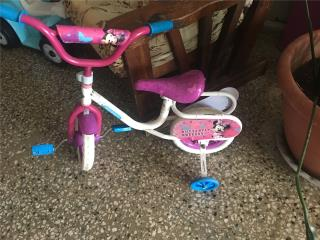 Bicicleta de minnie mouse, Puerto Rico