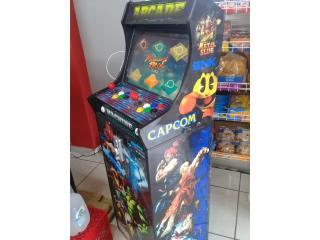 Maquina Arcade 600 juegos, Puerto Rico