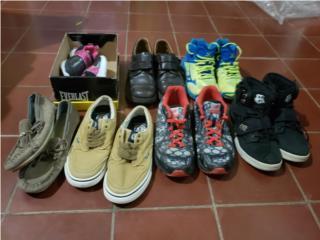 Lote de zapatos niños, Puerto Rico