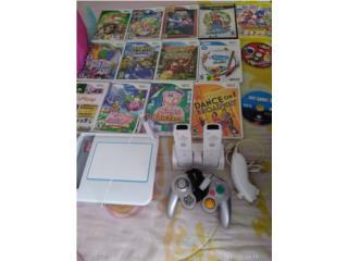 Nintendo Wii con 15 juegos, Puerto Rico
