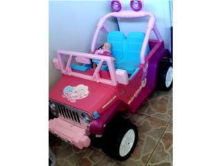 Jeep de barbie PowerWheels, Puerto Rico